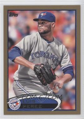 2012 Topps Update Series Gold #US8 - Luis Perez /2012