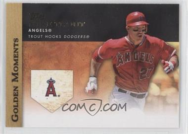 2012 Topps Update Series Golden Moments #GM-U2 - Mike Trout
