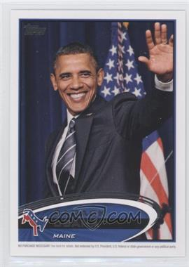 2012 Topps Update Series Presidential Predictor Barack Obama #PPO-19 - Barack Obama