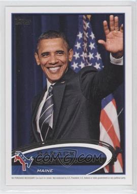 2012 Topps Update Series Presidential Predictor Barack Obama #PPO-19 - Barack Obama