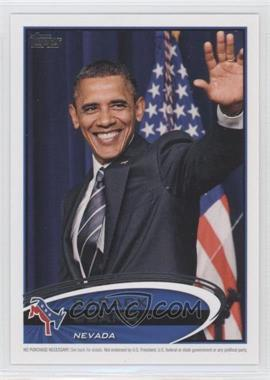 2012 Topps Update Series Presidential Predictor Barack Obama #PPO-28 - Barack Obama
