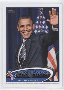 2012 Topps Update Series Presidential Predictor Barack Obama #PPO-29 - Barack Obama