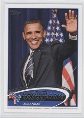 2012 Topps Update Series Presidential Predictor Barack Obama #PPO-4 - Barack Obama