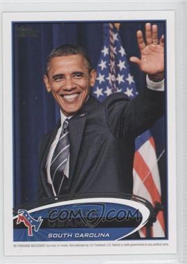 2012 Topps Update Series Presidential Predictor Barack Obama #PPO-40 - Barack Obama