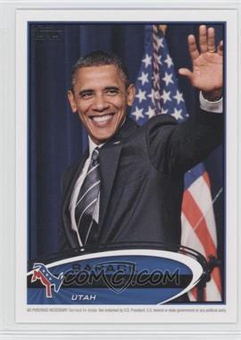 2012 Topps Update Series Presidential Predictor Barack Obama #PPO-44 - Barack Obama