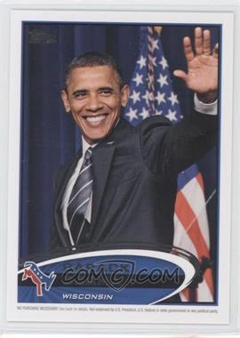 2012 Topps Update Series Presidential Predictor Barack Obama #PPO-49 - Barack Obama
