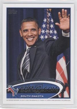 2012 Topps Update Series Presidential Predictor Barack Obama #PPO-6 - Barack Obama