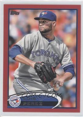 2012 Topps Update Series Target Red #US8 - Luis Perez