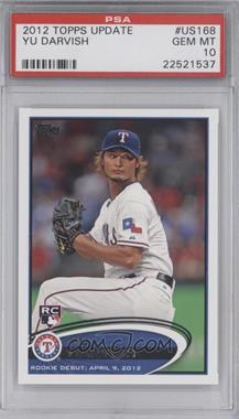 2012 Topps Update Series #US168 - Yu Darvish [PSA 10]
