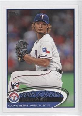 2012 Topps Update Series #US168 - Yu Darvish