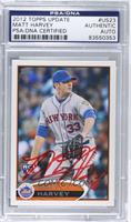 Matt Harvey [PSA/DNA Certified Auto]