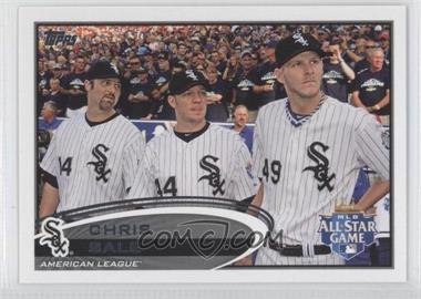 2012 Topps Update Series #US327 - Chris Sale (Horizontal Shortprint)
