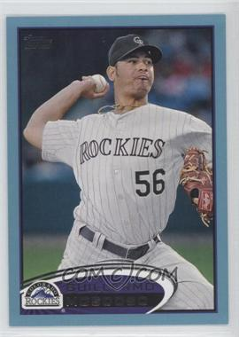 2012 Topps Wal-Mart [Base] Blue Border #431 - Guillermo Moscoso