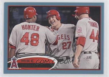 2012 Topps Wal-Mart [Base] Blue Border #446 - Mike Trout