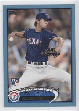 2012 Topps Wal-Mart [Base] Blue Border #660 - Yu Darvish