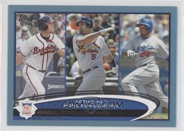 2012 Topps Wal-Mart Blue Border #192 - Albert Pujols, Andruw Jones