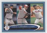 Clayton Kershaw, Roy Halladay, Cliff Lee