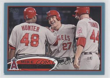 2012 Topps Wal-Mart Blue Border #446 - Mike Trout