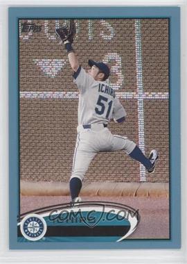 2012 Topps Wal-Mart Blue Border #537 - Ichiro Suzuki