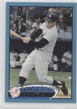 2012 Topps Wal-Mart Blue Border #7 - Mickey Mantle