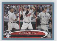 Jim Thome, Jason Giambi, Alex Rodriguez