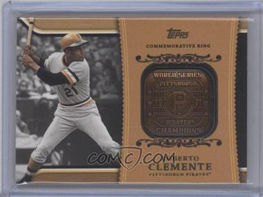 2012 Topps Wal-Mart Factory Set Roberto Clemente Career Rings #WM-RC2 - Roberto Clemente