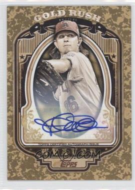 2012 Topps Wrapper Redemption Gold Rush Certified Autograph [Autographed] #27 - Jered Weaver /50