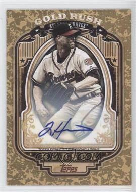 2012 Topps Wrapper Redemption Gold Rush Certified Autograph [Autographed] #45 - Tim Hudson /50