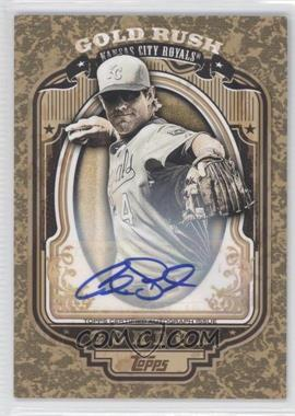 2012 Topps Wrapper Redemption Gold Rush Certified Autograph [Autographed] #67 - Alex Gordon /100