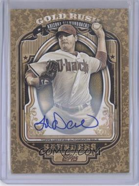 2012 Topps Wrapper Redemption Gold Rush Certified Autograph [Autographed] #73 - Joe Saunders /100