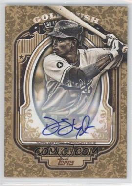 2012 Topps Wrapper Redemption Gold Rush Certified Autograph [Autographed] #75 - Dee Gordon /100