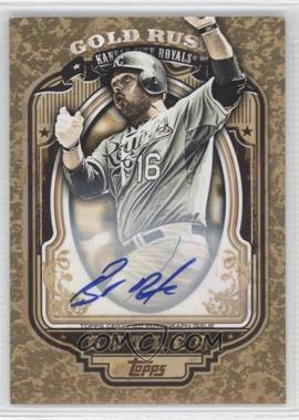 2012 Topps Wrapper Redemption Gold Rush Certified Autograph [Autographed] #81 - Billy Butler /100
