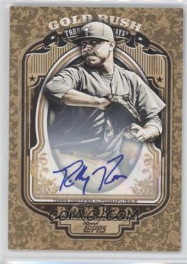 2012 Topps Wrapper Redemption Gold Rush Certified Autograph [Autographed] #82 - Ricky Romero /135