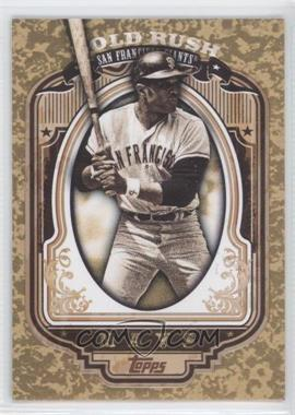 2012 Topps Wrapper Redemption Gold Rush #20 - Willie Mays