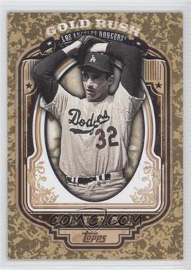 2012 Topps Wrapper Redemption Gold Rush #47 - Sandy Koufax