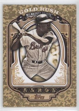 2012 Topps Wrapper Redemption Gold Rush #50 - Hank Aaron