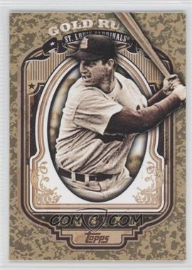 2012 Topps Wrapper Redemption Gold Rush #52 - Stan Musial