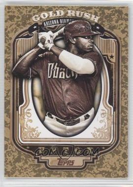 2012 Topps Wrapper Redemption Gold Rush #57 - Justin Upton