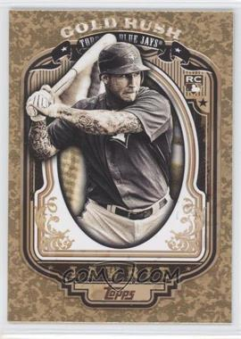 2012 Topps Wrapper Redemption Gold Rush #58 - Brett Lawrie