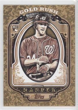2012 Topps Wrapper Redemption Gold Rush #60 - Bryce Harper