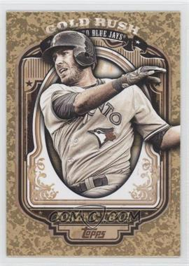 2012 Topps Wrapper Redemption Gold Rush #60 - J.P. Arencibia