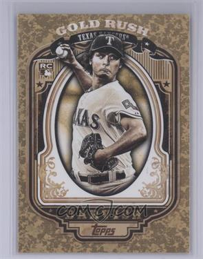 2012 Topps Wrapper Redemption Gold Rush #88 - Yu Darvish [Mint]