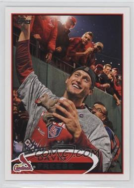 2012 Topps #273.2 - David Freese (Rally Squirrel)
