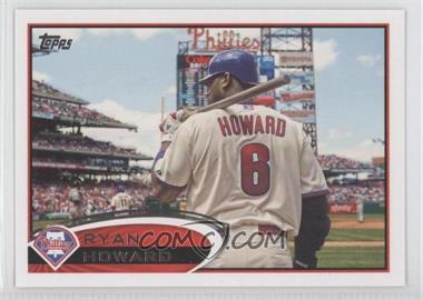 2012 Topps #280 - Ryan Howard