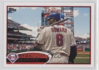 Ryan Howard (Bat on Shoulder)