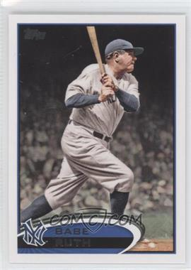2012 Topps #331 - Babe Ruth