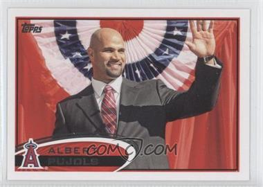 2012 Topps #331.2 - Albert Pujols (In Suit)