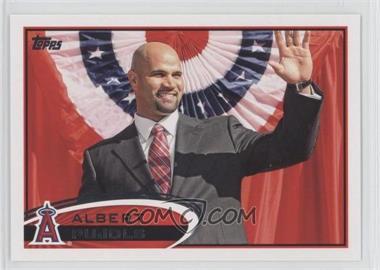 2012 Topps #331.2 - Albert Pujols (Waving)