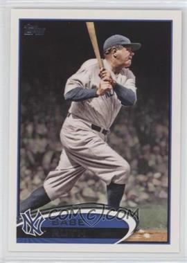 2012 Topps #331.4 - Babe Ruth (Legend)