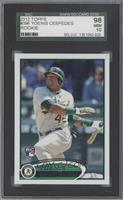 Yoenis Cespedes (Green Uniform) [SGC 98]